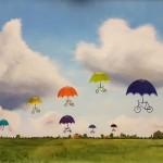 schilderij Myra Heimans