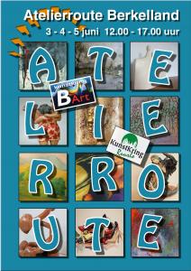 Poster Atelierroute 2017