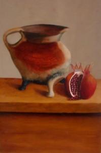 middeleeuws-kookpotje-grape-met-granaatappel-verkleind